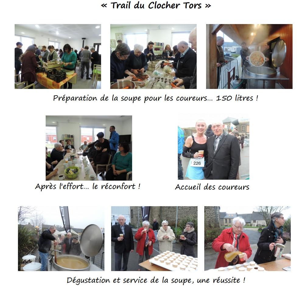 Le Trail de Clocher Tors